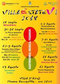 Villa D'Agri Calendario Eventi Estate 2018